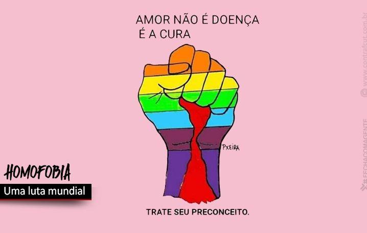 17 de maio é o Dia Internacional Contra a Homofobia