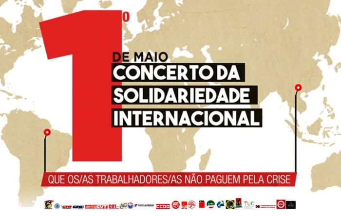 1º de Maio terá Concerto da Solidariedade Internacional