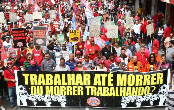 22 de novembro: dia de mobilizar os trabalhadores em defesa da aposentadoria