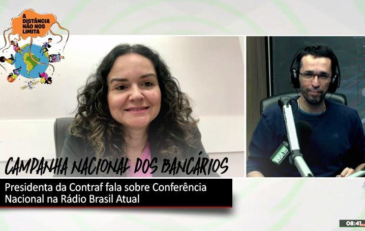 22ª Conferência Nacional dos Bancários foi pauta na Rádio Brasil Atual