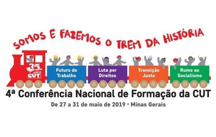4ª Conferência Nacional de Formação da CUT começa nesta segunda (27) em BH