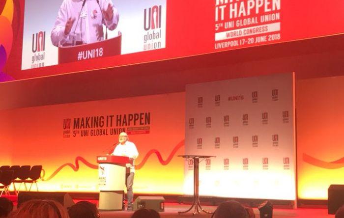 5º Congresso Mundial da UNI enaltece a importância do movimento sindical no mundo