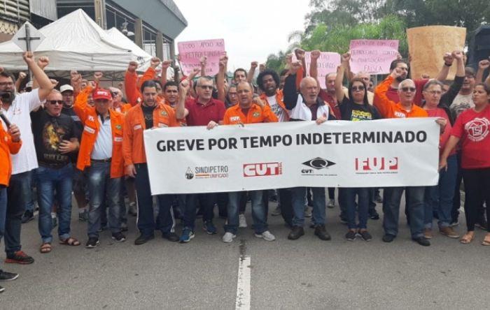 7º dia de greve dos petroleiros: confira o quadro nacional desta sexta (7)