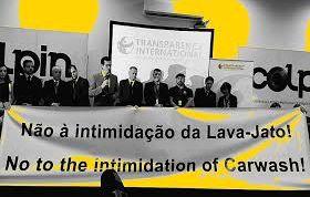 A aliança da Lava Jato com a Transparência Internacional