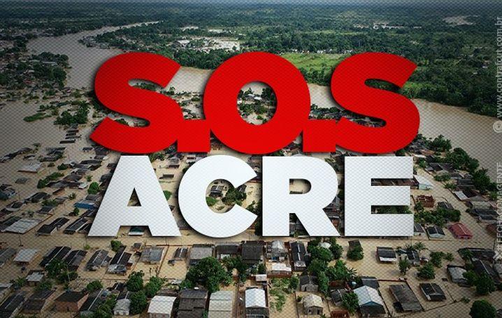 Acre tem 15% da população desabrigada