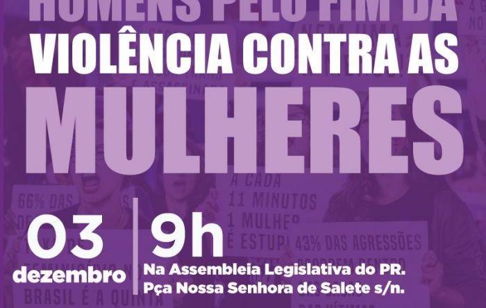 ALEP lança Frente Parlamentar dos Homens pelo fim da Violência contra as Mulheres
