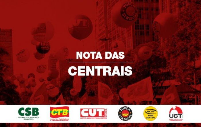 As 6 maiores centrais do Brasil pedem que Senado suspenda votação da reforma