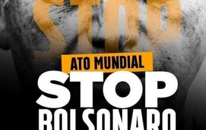 Ato mundial 'Stop Bolsonaro' terá manifestações em mais de 19 países no domingo (11)