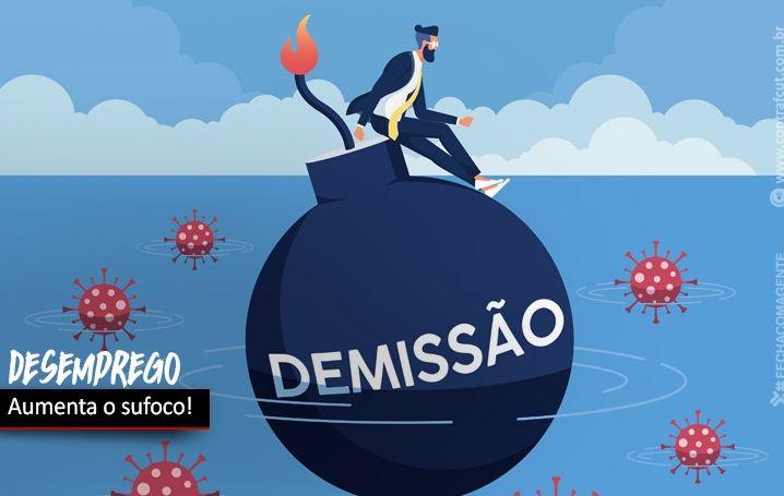 Aumenta desemprego no Brasil e os bancos continuam a demitir