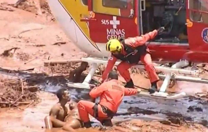 Aumentou para 60 o número de vítimas fatais da Vale, em Brumadinho