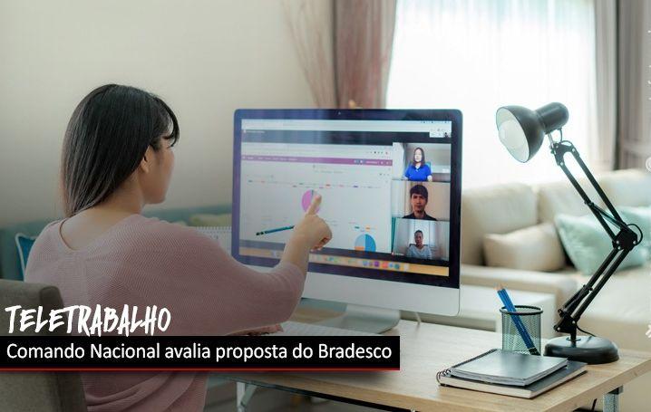 Bancári@s avaliam proposta do Bradesco sobre teletrabalho