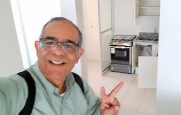 Bancário visitou o tríplex atribuído a Lula e tirou fotos que comprovam a farsa