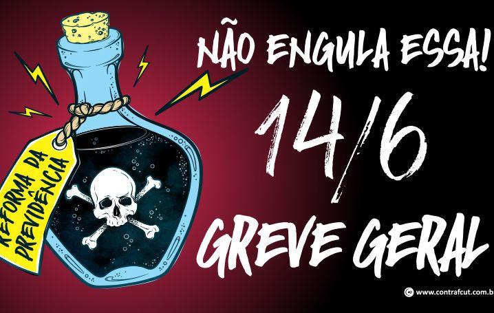 Bancários de todo o Brasil aderem à Greve Geral