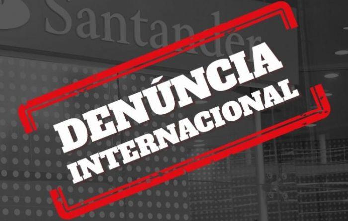 Bancários denunciam à Comissão Europeia desrespeitos do Santander aos trabalhadores
