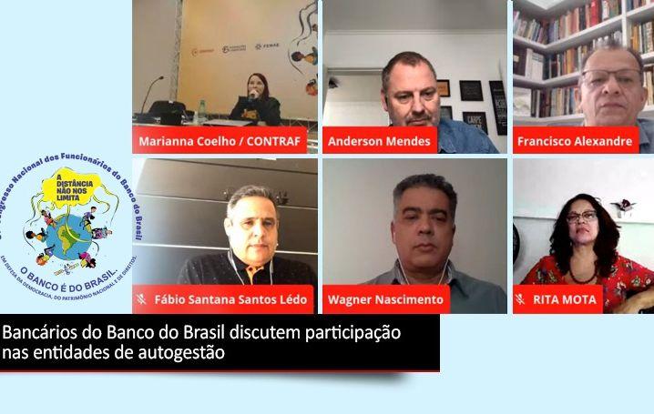 Bancários do BB discutem participação nas entidades de autogestão