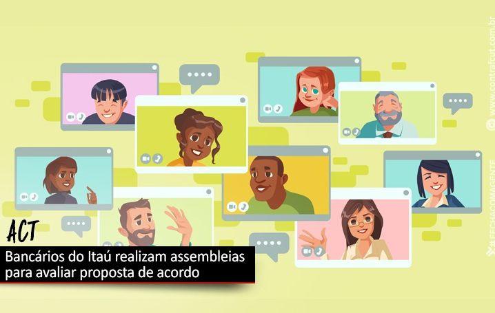 Bancários do Itaú votam proposta de ACT