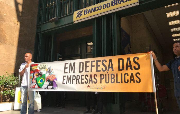 Bancários em Defesa das Empresas Públicas e da Soberania Nacional