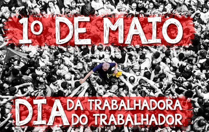 Bancários participam de atos no 1º de maio da resistência em todo o país