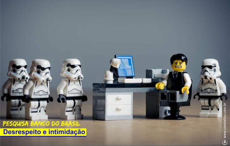 Banco do Brasil intimida funcionários com pesquisa