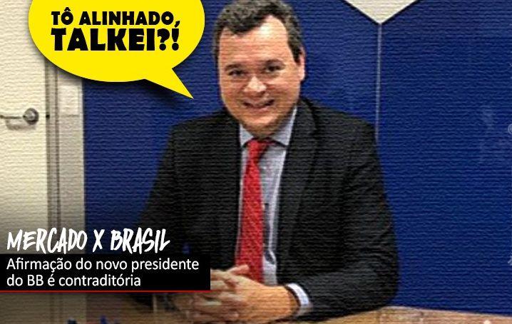 """""""Banco do Brasil não é do mercado, é do Brasil"""", diz João Fukunaga"""
