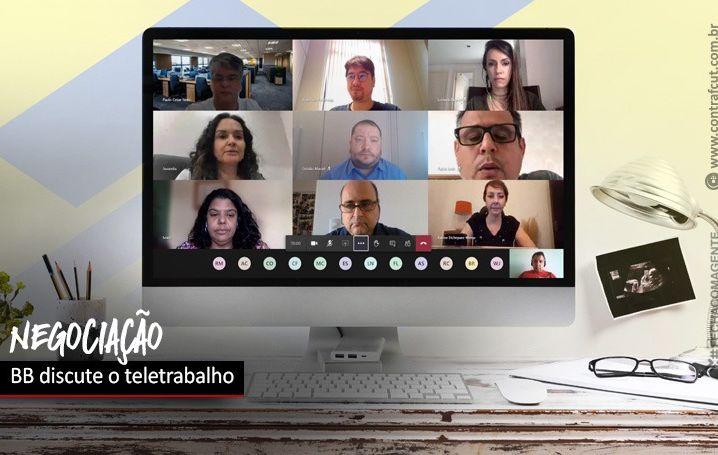 Banco do Brasil negocia teletrabalho com a COE