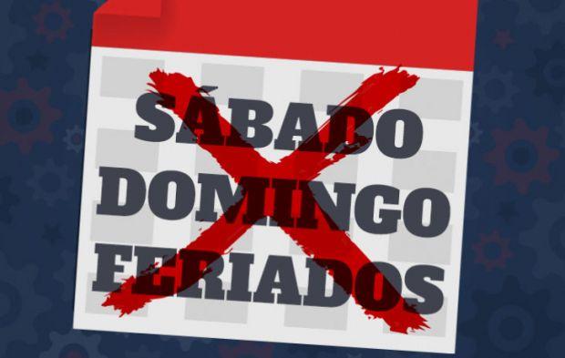 Bolsonaro amplia liberação do trabalho aos sábados, domingos e feriados sem direitos