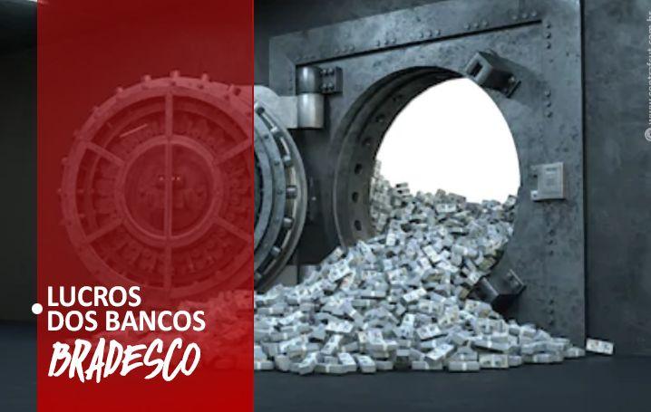 Bradesco lucra 7,626 bilhões no 1º semestre de 2020