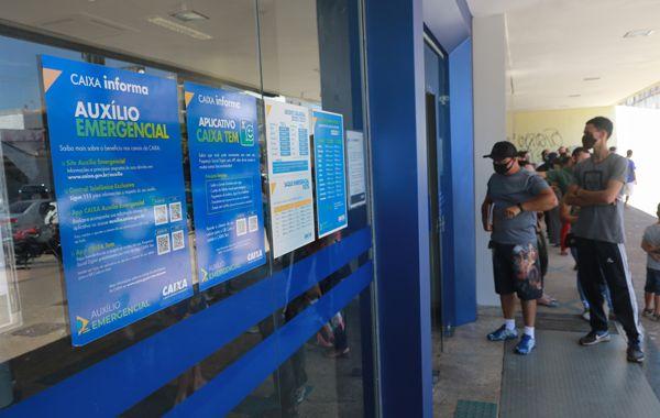 Caixa efetua último pagamento do auxílio emergencial