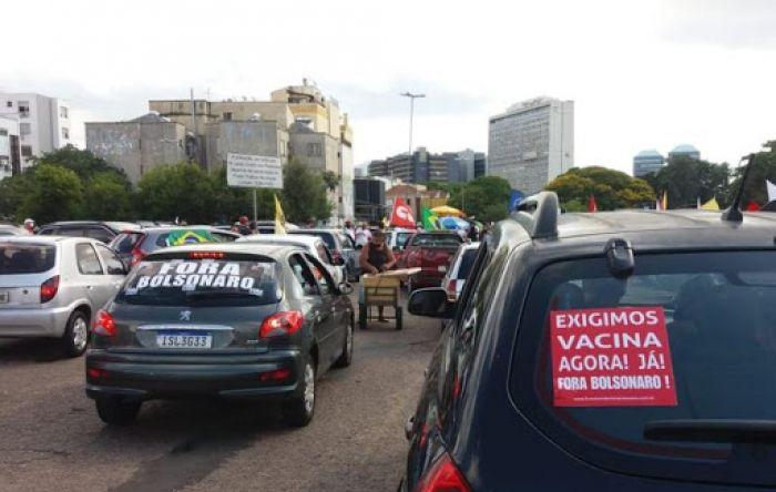 Carreatas #ForaBolsonaro estão confirmadas em mais de 60 cidades neste fim de semana