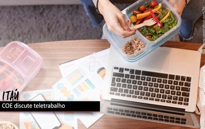 COE do Itaú discute teletrabalho e quitação das obrigações do registro de ponto dos funcionários