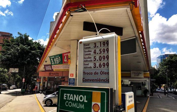 Com novo aumento dos combustíveis, preço da gasolina sobe 34,4% só este ano