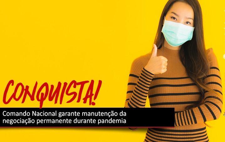 Comando Nacional garante negociação antes de qualquer alteração com os bancários durante pandemia