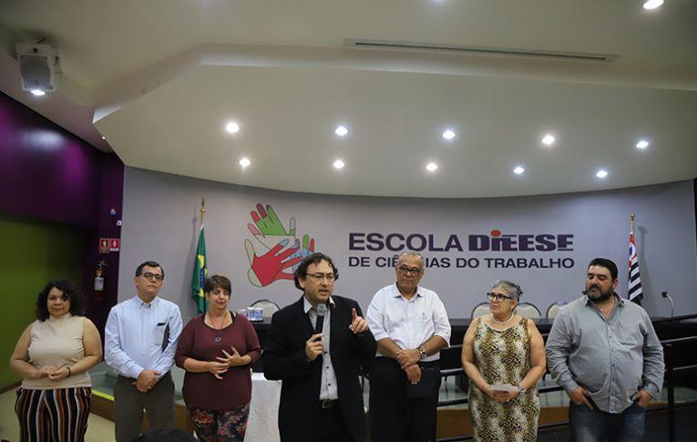 Combate à desigualdade nos mobiliza, diz novo diretor técnico do Dieese