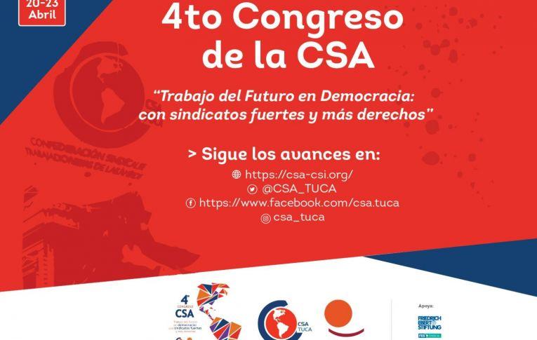 Começa o 4º Congresso de trabalhadores das américas