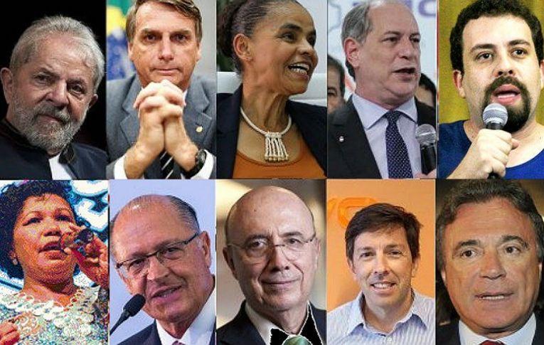 Conheça os candidatos à Presidência que estarão nas urnas em outubro