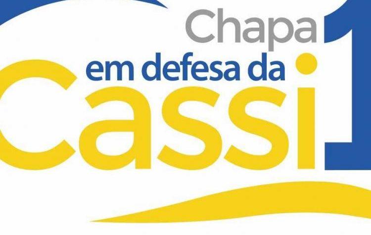 Contraf-CUT apoia a Chapa 1- Em Defesa da Cassi