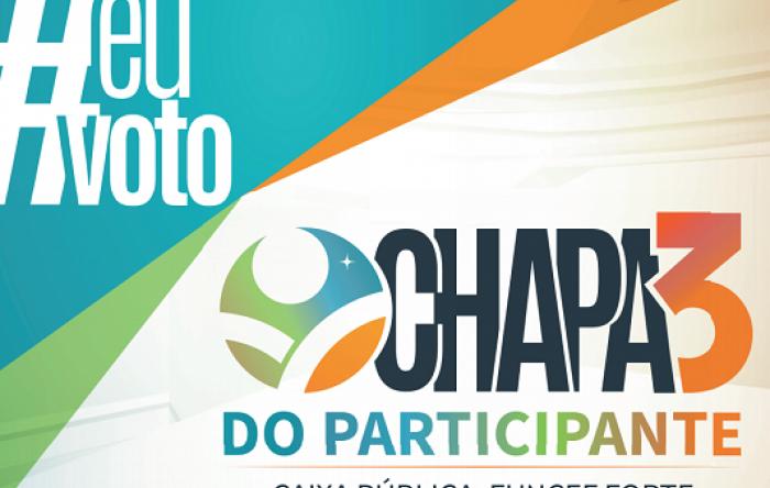 Contraf-CUT apoia a Chapa 3 do Participante – Caixa Pública, Funcef Forte