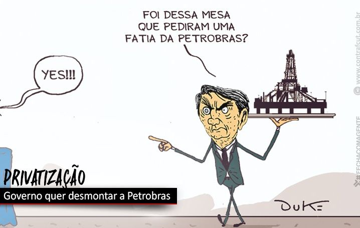 Contraf-CUT apoia luta contra venda de refinaria da Petrobras