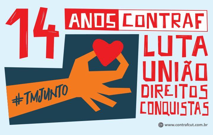 Contraf-CUT completa 14 anos de luta em defesa dos trabalhadores