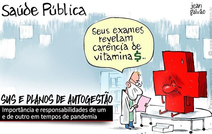"""Contraf-CUT debate sobre """"o SUS e os planos de autogestão no contexto de pandemia"""""""