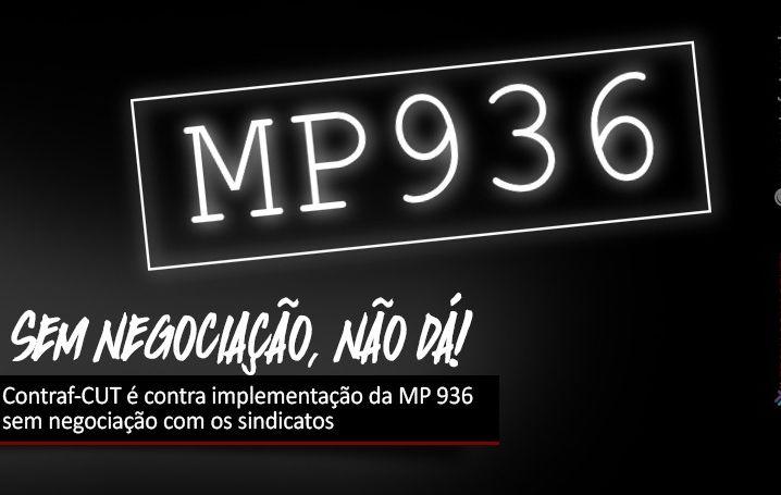 Contraf-CUT é contra implementação da MP 936 sem negociação com os sindicatos