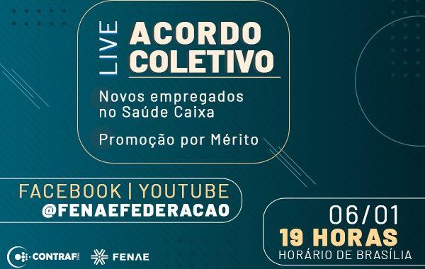 Contraf-CUT e Fenae debatem Promoção por mérito e novos empregados em live na próxima quarta-feira (06)