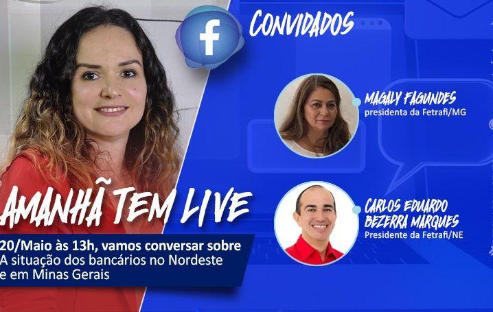 Contraf-CUT fará live no Facebook nesta quarta-feira (20)