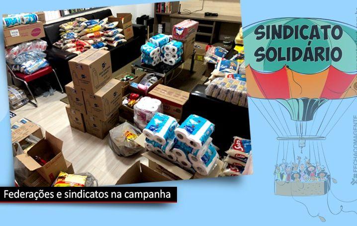 Contraf-CUT intensifica campanha de solidariedade