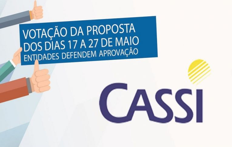 Contraf-CUT orienta aprovação da proposta de manutenção da Cassi. Votação vai até segunda, 27