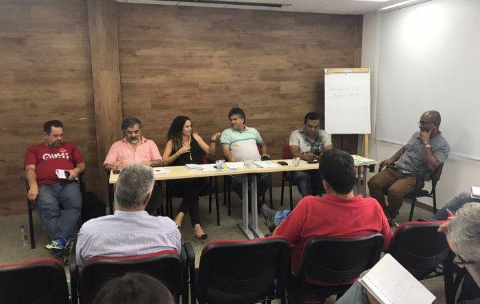 Contraf-CUT participa da reunião de coordenação do Macrossetor de Serviços da CUT