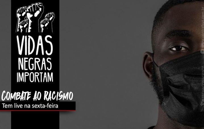 Contraf-CUT participa de live sobre luta contra o racismo no Brasil