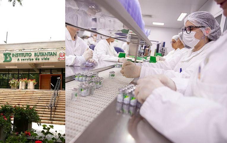 CoronaVac é a vacina 'mais segura do mundo' e eficaz, diz presidente do Butantan