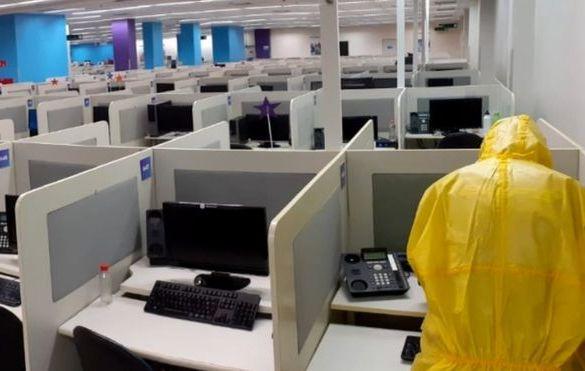 Coronavírus: o medo dos operadores de telemarketing que trabalham expostos à contaminação