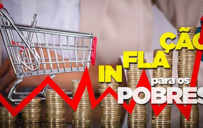 Crescem a inflação dos mais pobres e o medo do desemprego